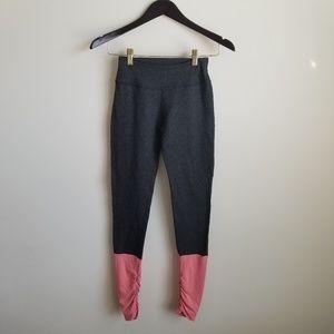 Beyond yoga gray leg warmer style leggings
